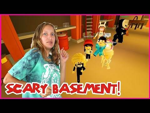 HIDING IN THE BASEMENT!