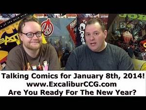 Talking Comics for 01.08.14 - Avengers World #1, Minimum Wage #1, Walking Dead #119, & More!