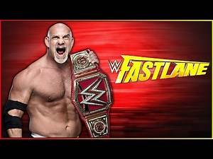 WWE Fastlane 2017 Predictions