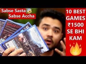 Top 10 PS4 Games UNDER ₹1500 | HINDI (2020) | #budgetgaming 🔥🔥🔥