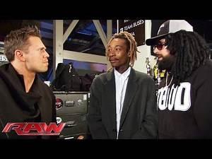 "Damien ""Wizdow"" shows off his rap skills for Wiz Khalifa: Raw, March 9, 2015"