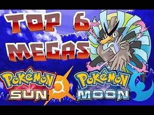 Top 6 Pokémon that need a Mega Evolution in Pokémon Sun and Moon!