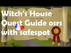 Witch's House Osrs Quest Guide