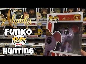 Disney's Aladdin Funko Pop Hunting!!