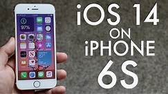 iPhone 6S On iOS 14! (Review)