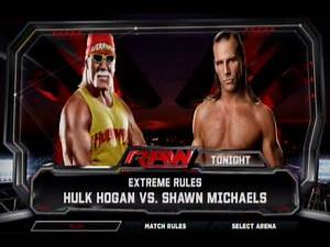 WWE 2K15: Hulk Hogan vs. Shawn Michaels (Xbox 360)