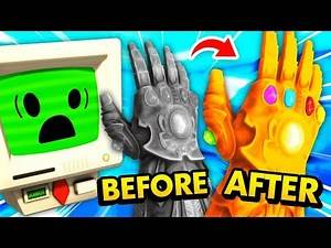 NEW Reactivating The ANCIENT INFINITY GAUNTLET (Job Simulator VR Funny Gameplay)