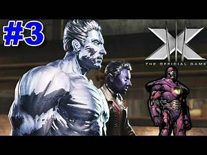 X-Men: The Official Game PS2 Gameplay #3 [Nightcrawler vs Sentinel]
