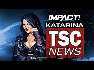 Former WWE Superstar Katarina Waters Impact Wrestling Conference Call