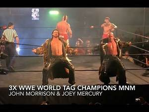 3x WWE Tag Team Champs MNM Reunite After 10 Years