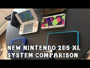 [New Nintendo 2DS XL] Comparison to other Nintendo systems