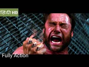 The wolverine 2013 :Last battle scene in Hindi movie clips( A)