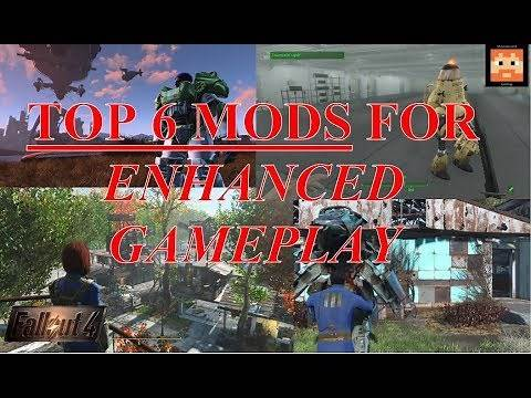 Fallout 4 Top 6 Best Mods for Enhanced Gameplay in 2018 (PS4, Xbox One, PC)