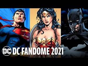 DC FanDome 2021 All Star Talent Lineup Announcement   DC