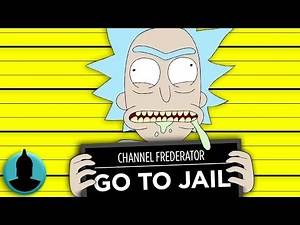 10 Rick and Morty Episodes That Would Get Rick LOCKED UP (Tooned Up S5 E37)