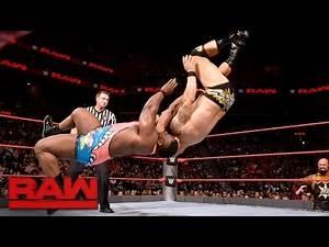 Big E vs. Karl Anderson: Raw, Aug. 22, 2016