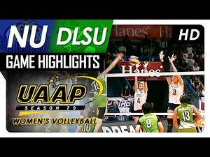 DLSU vs NU | Game Highlights | UAAP 79 WV | February 19, 2017