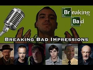 22 Breaking Bad Impressions (Jesse, Badger, Mike Ehrmantraut, Saul Goodman, and more)