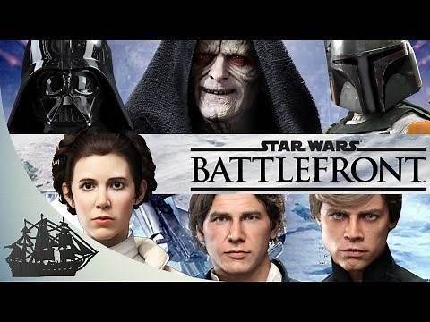 Star Wars Battlefront: All Characters