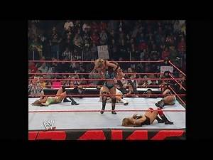 02-20-06 | Diva Battle Royal - 1 Contenders Match | WWE Raw
