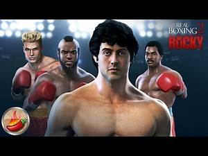 Real Boxing 2 ROCKY (By Vivid Games S.A.) - iOS / Android - Gameplay Trailer