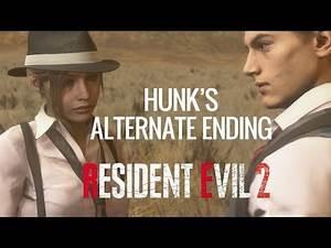 Moddings - Resident Evil 2 - Hunk misses his chopper evac