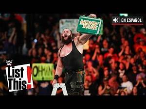 25 datos increíbles sobre Money in the Bank: WWE List This!