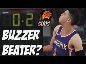 NBA 2K18 Suns MyGM   Devin Booker Buzzer Beater? Intense Game!