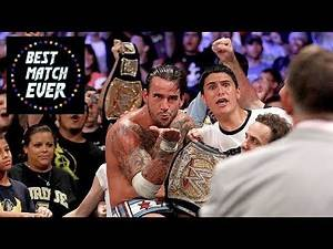 Best Match Ever 20 - CM Punk vs. John Cena (WWE Money In The Bank 2011)