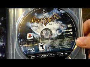 Unboxing: Batman Arkham Asylum