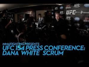 Dana White UFC 154 Post-Fight Scrum (Complete)