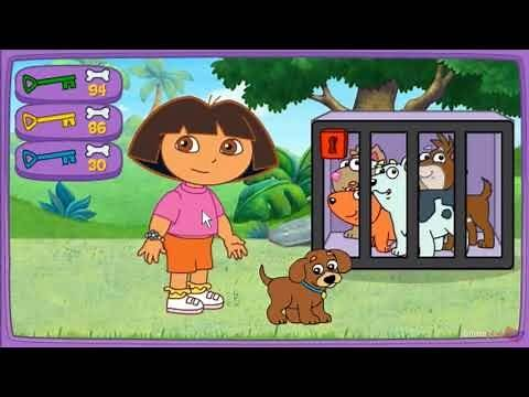Dora Puppy Adventure | Dora the Explorer - New Game Walkthrough (Based on Cartoon)