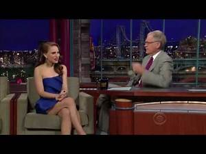 Natalie Portman Looking So Beautiful On David Letterman.flv
