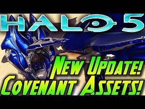 Halo 5 Update and Covenant Assets in Forge! Halo 5 News and New Content!