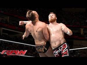Sami Zayn vs. The Miz: Raw, March 14, 2016