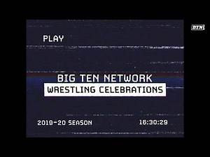 All the Best Wrestling Celebrations from 2019-2020 | B1G Wrestling