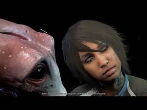 Mass Effect Andromeda - Movie Night (Sara/Liam Romance)