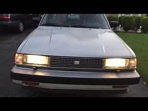 1985 Toyota Cressida start up and walk around 5-speed manual