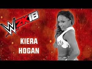 WWE 2K18 Kiera Hogan Showcase Top 8 Moves
