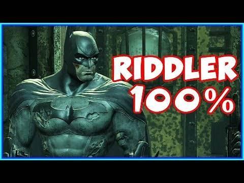 Batman Arkham City The Riddler Boss Fights