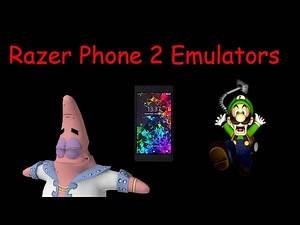Razer Phone 2 Emulators Test 2 Dolphin emulator. (Luigi's Mansion, SpongeBob Movie Game, and more.
