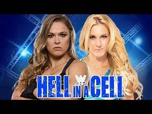 Ronda Rousey vs Charlotte Hell in a Cell Match