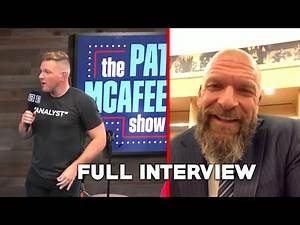 Triple H on The Pat McAfee Show 2.0