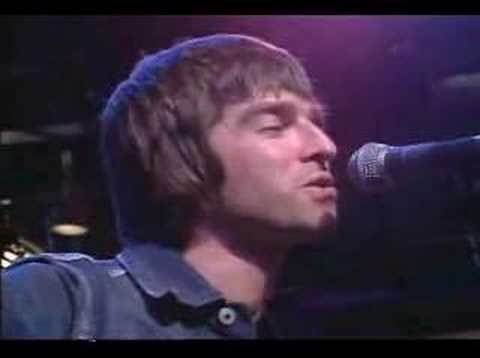 Oasis - Wonderwall (live, Much Music)