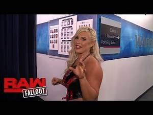 Dana Brooke advises the WWE Universe to grow up: Raw Fallout, Oct. 10, 2016