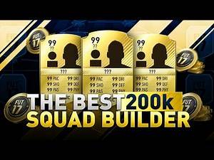 FIFA 17 200K SQUAD BUILDER THAT CAN BEAT ANY TEAM IN FIFA - BEST CHEAP ULTIMATE TEAM SQUAD BUILDER
