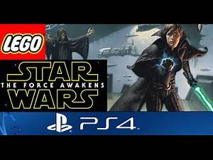 Lego Star Wars The Force Awakens PS4 - Dark Side Luke Skywalker Custom Character