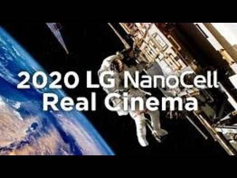 2020 LG NanoCell TV   Real Cinema with Pure Colors