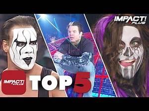 5 GREATEST Returns in IMPACT Wrestling History! | IMPACT Plus Top 5