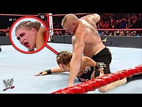 10 Most Shocking WWE Man vs Woman Moments